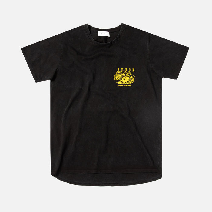 Rhude Rasor Road Tee - Black