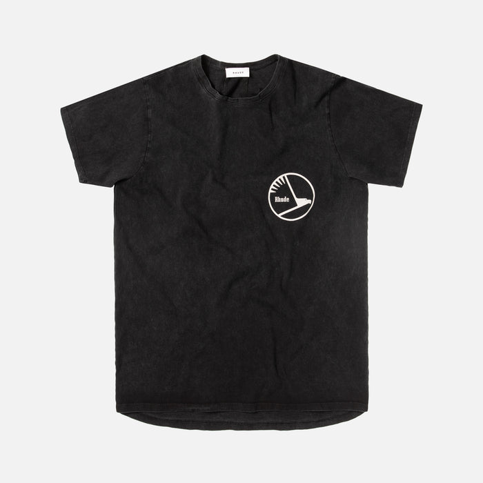 Rhude Engines Tee - Black
