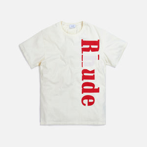 Rhude Pocket Logo Tee - White