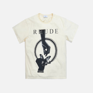 Rhude Passing Butterfly Tee - White