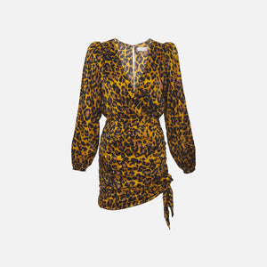 Ronny Kobo Elle Dress - Gold / Black Image 1