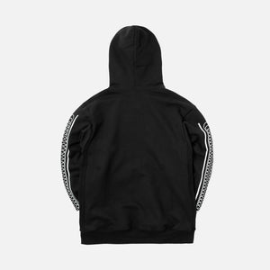 Rokit Pigment Dye Hoodie - Black / Orange