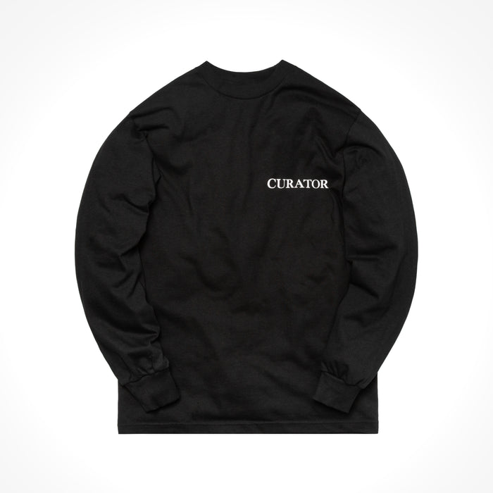 Rokit The Curator L/S Tee - Black