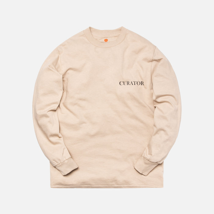 Rokit The Curator L/S Tee - Cream