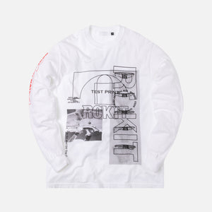 Rokit The Test Print L/S Tee - White