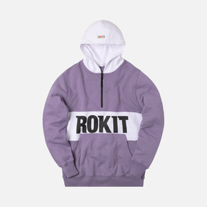 Rokit The Allstar Quarter-Zip - Purple