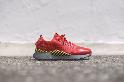 Puma x Sega RS-0 Robotnik Surf The Web - Chinese Red / Aged Silver