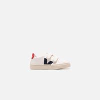 Veja Junior Esplar Velcro - White / Navy Thumbnail 1