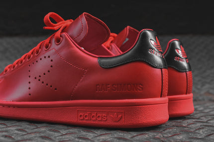 buy popular 866b7 17a71 adidas Originals x Raf Simons Stan Smith - Tomato Red  Black