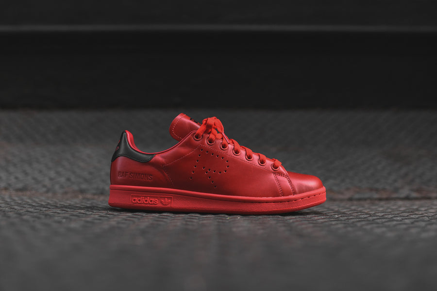 adidas Originals x Raf Simons Stan Smith - Tomato Red / Black