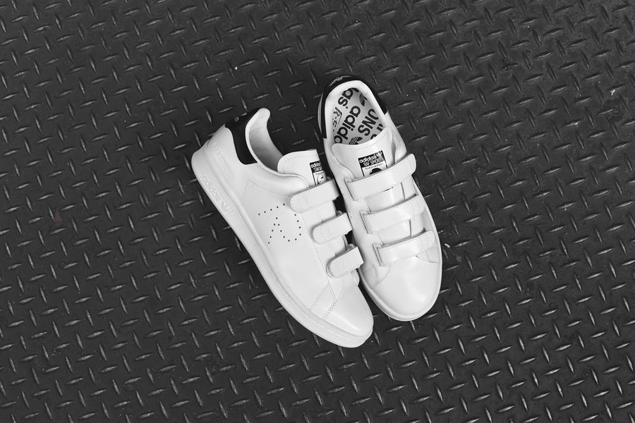 adidas Originals x Raf Simons Stan Smith Velcro - White / Black
