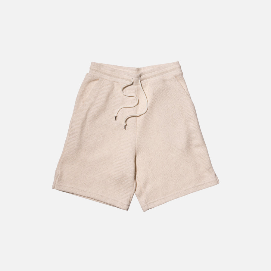 John Elliott Raschel Shorts - Natural