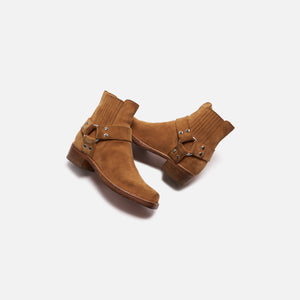 ReDone Short Cavalry Boot Worn - Tan Suede Image 2