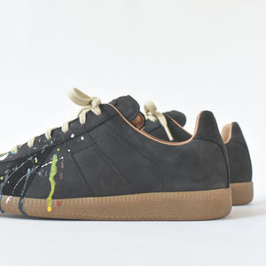 Margiela Replica Painter Low - Black / Paint