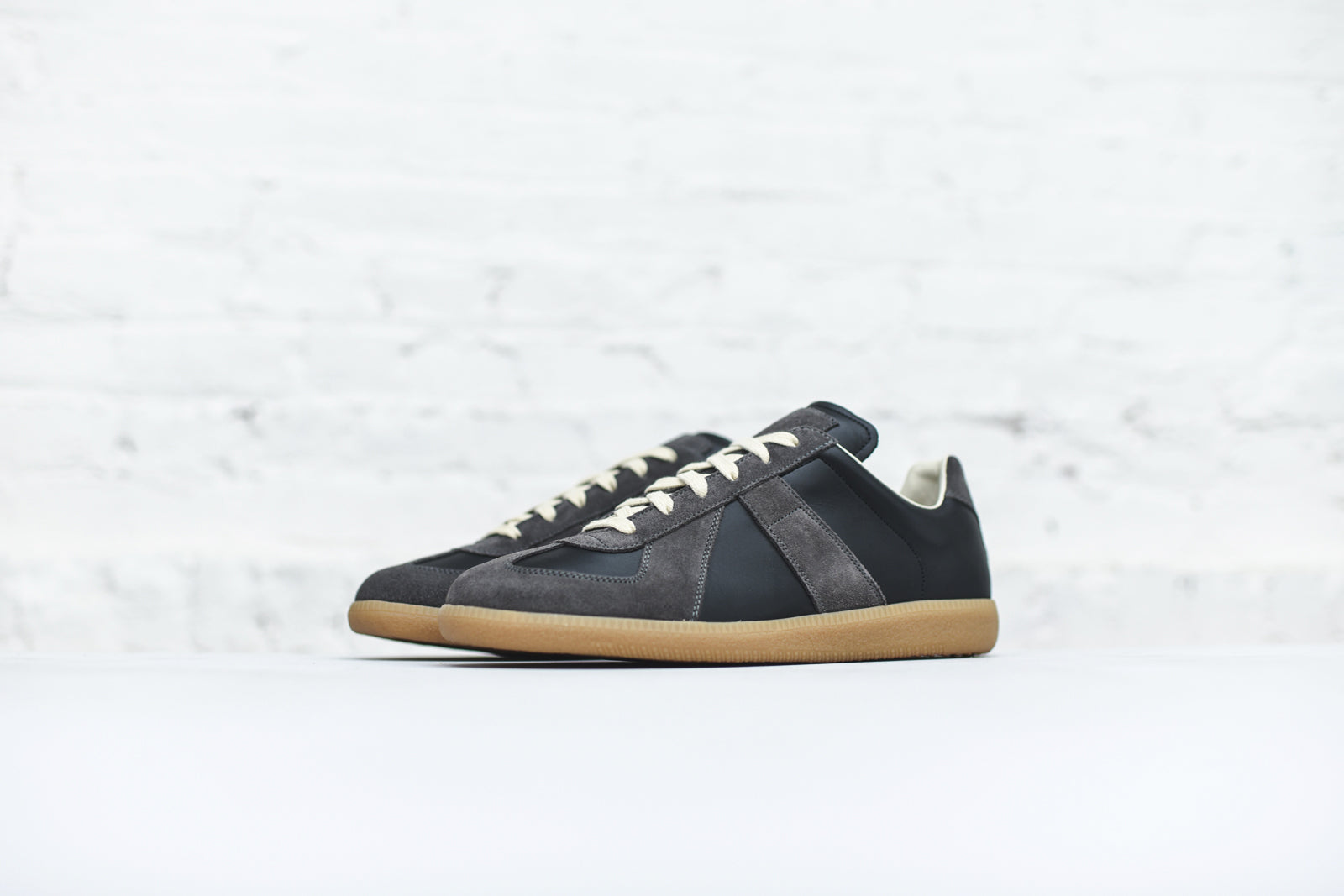 Margiela Replica Sneaker - Black / Amber Sole