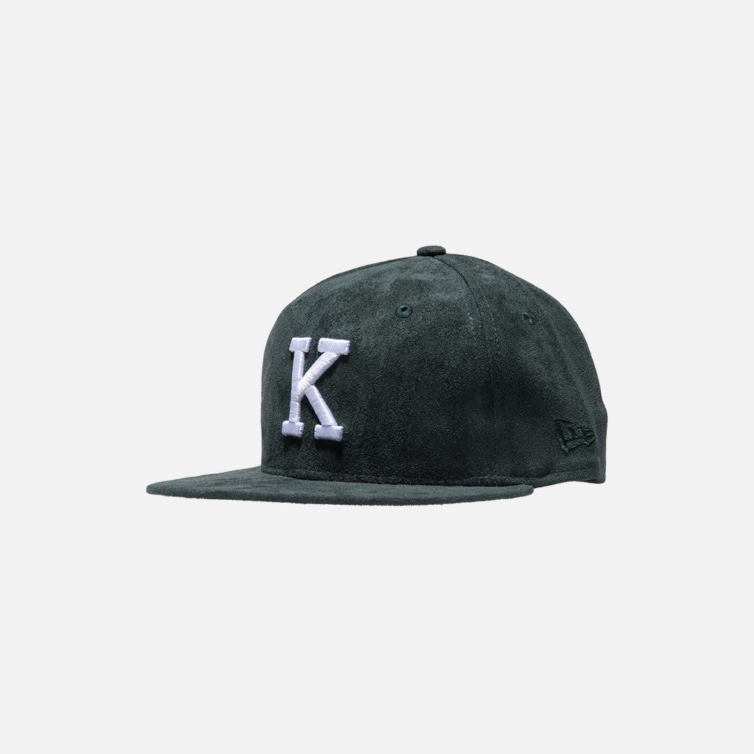 Kith x New Era K 59FIFTY Cap -  Forest Green