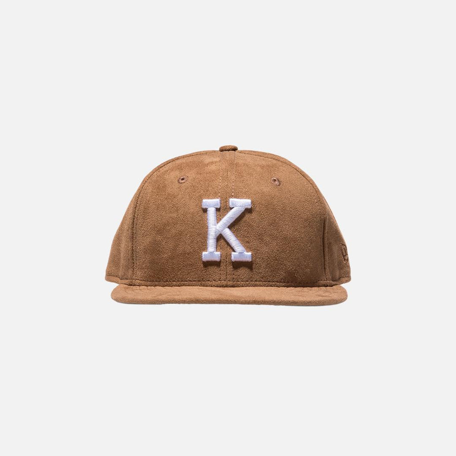 Kith x New Era K 59FIFTY Cap -  Cognac / Brown