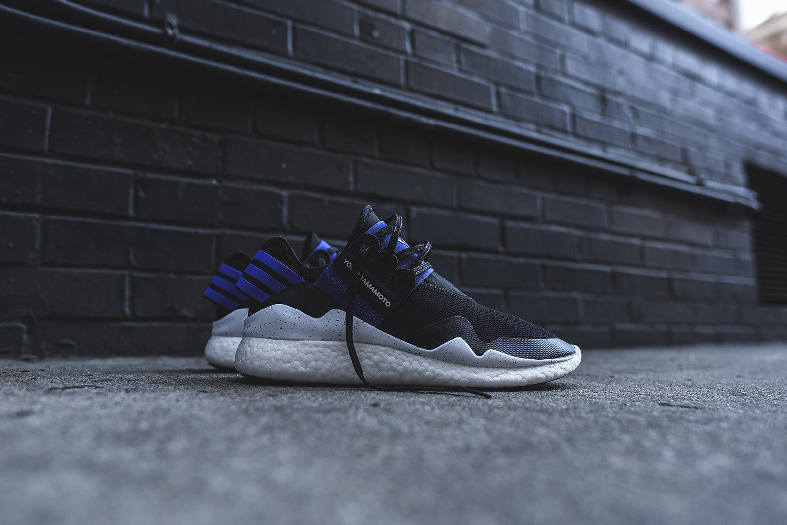 Y-3 Retro Boost - Electric Blue / Black / White