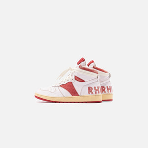 Rhude Rhecess 1 High - White / Red