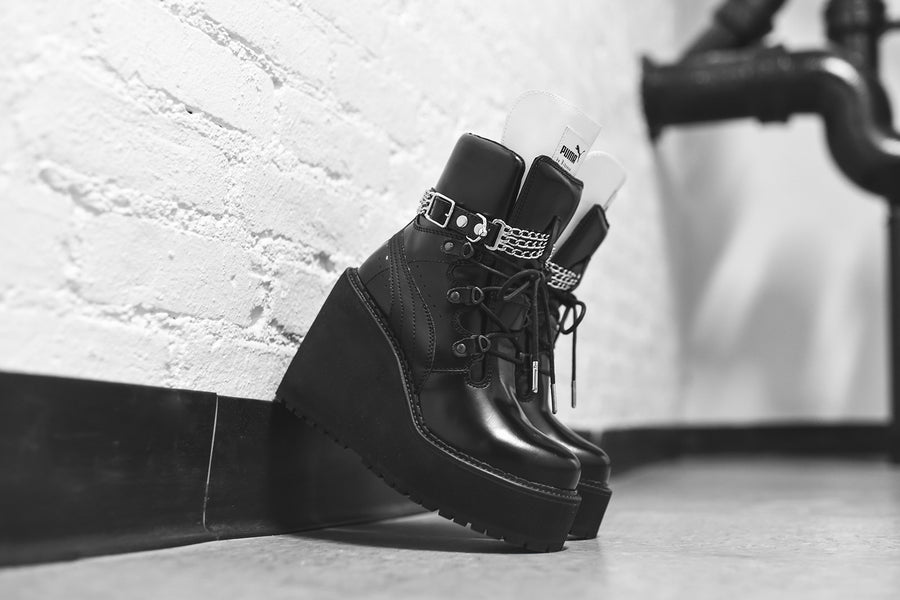 Puma x Fenty WMNS Sneaker Wedge Boot - Black