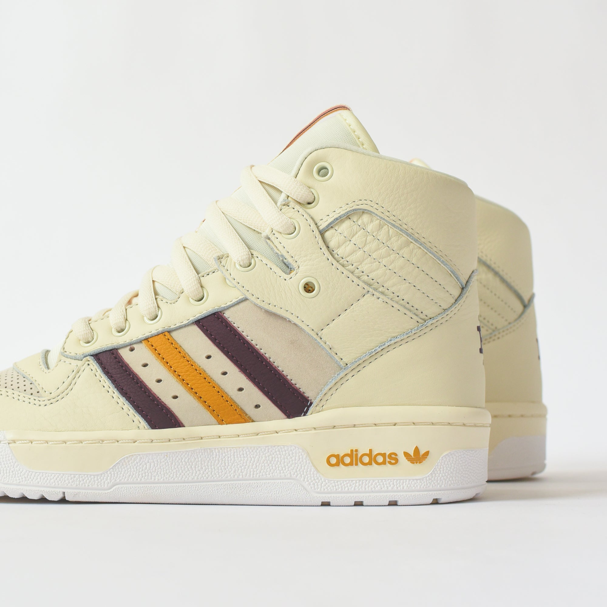 Adidas x Eric Emanuel Rivalry Hi - Cream / White