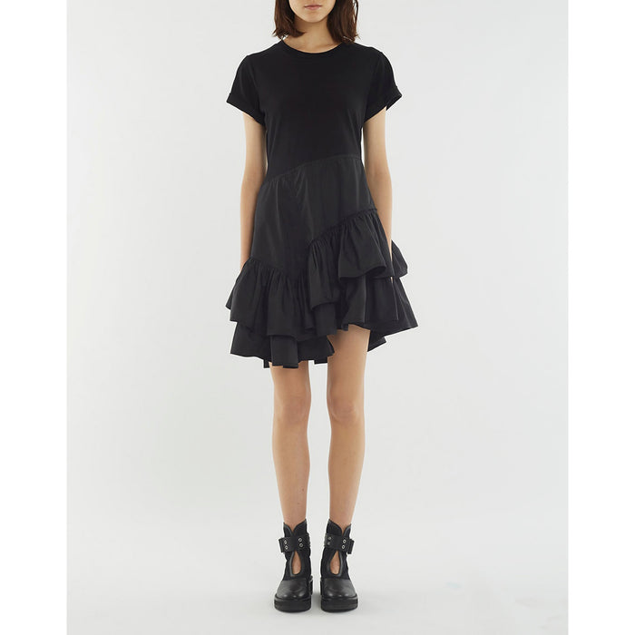 3.1 Phillip Lim Flamenco TShirt Dress - Black