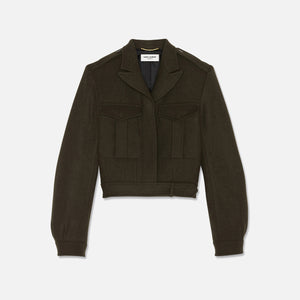 Saint Laurent Military Jacket - Green