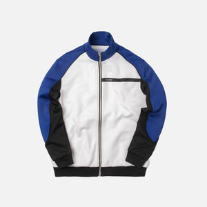Stampd Circuit Track Jacket - White / Blue / Black