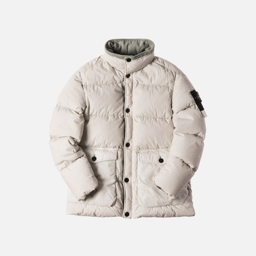 Stone Island Real Down Blouson Jacket - Plaster
