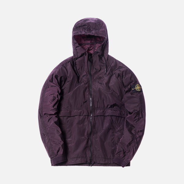 Stone Island Nylon Metal Jacket - Burgundy
