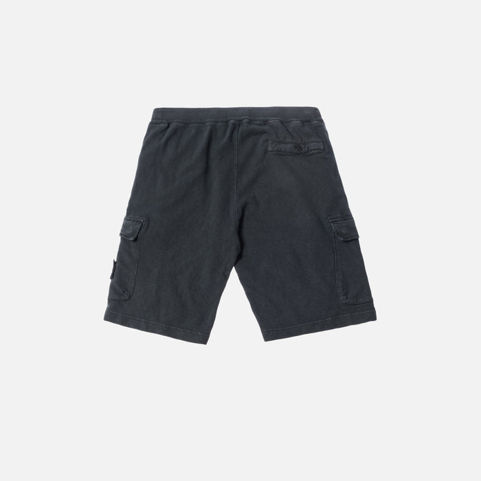Stone Island Fleece Bermuda Short - Charcoal