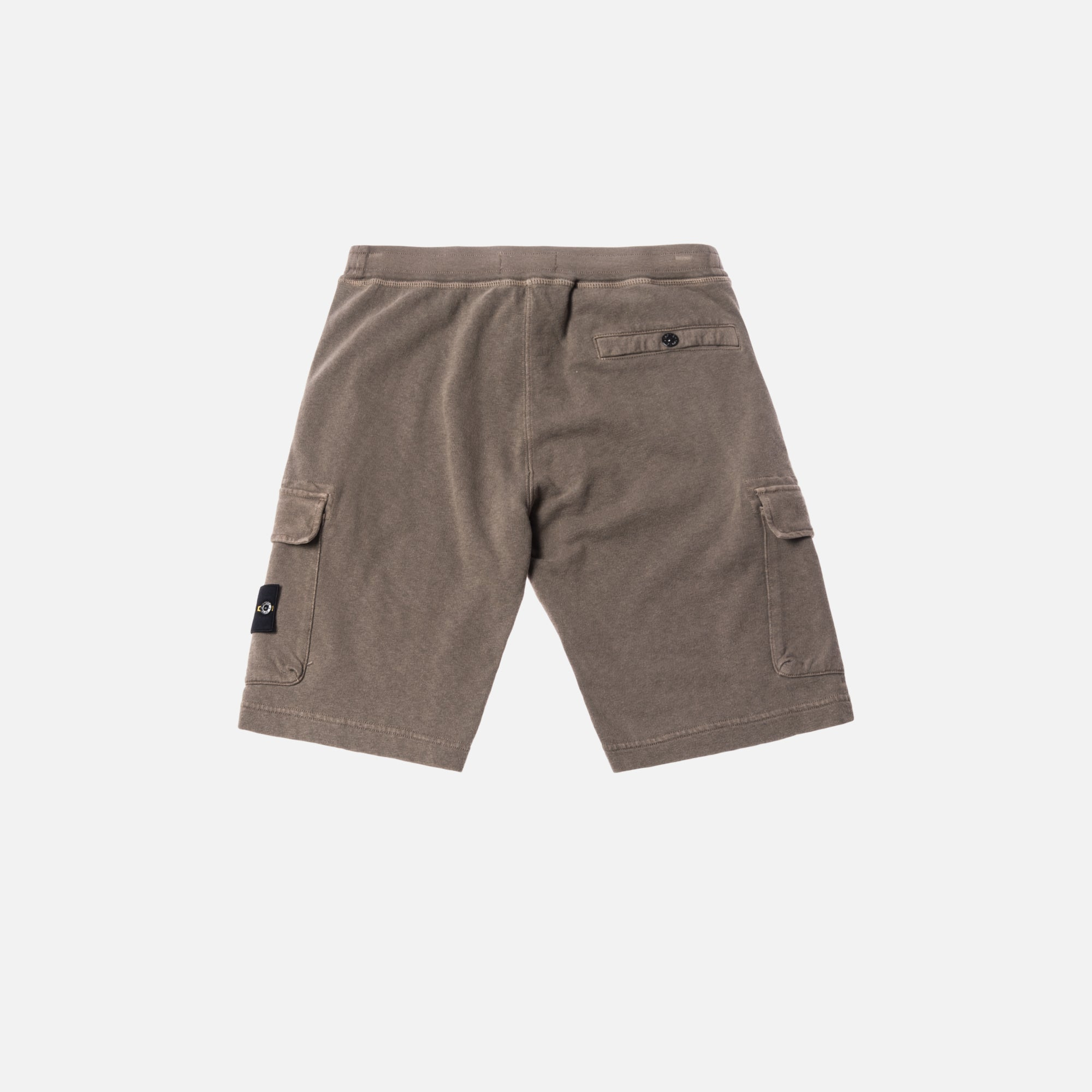 Stone Island Fleece Bermuda Short - Dove Grey