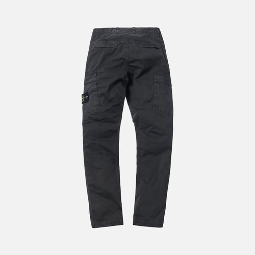 Stone Island Garment Dyed Stretch Cotton Cargo Pant - Anthracite
