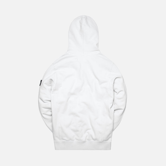 Stone Island Brushed Cotton Garment Dyed Hoodie - Gnaccio