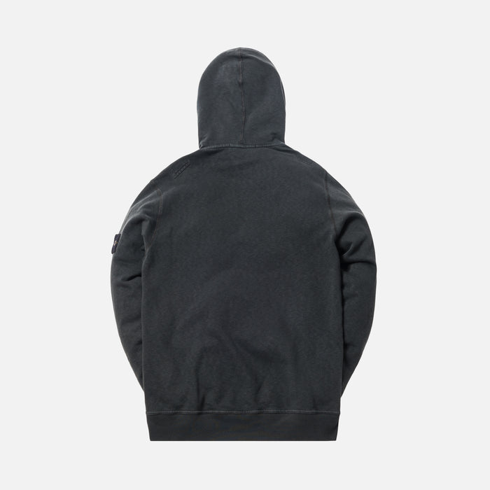 Stone Island Garment Dyed Old Effect Hoodie - Antracite