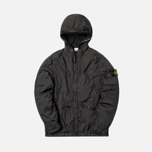 c776fd23574700 Stone Island Garment Dyed Nylon Crinkle Reps Jacket - Anthracite