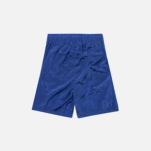 Stone Island Nylon Metal Mid Length Garment Dyed Logo Swim Short - Pervinca