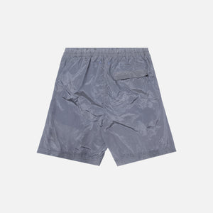 Stone Island Nylon Metal Mid Length Garment Dyed Logo Swim Shorts - Lavender