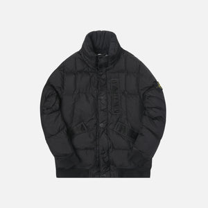 Stone Island Real Down Jacket - Black