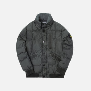 Stone Island Real Down Jacket - Petrolio
