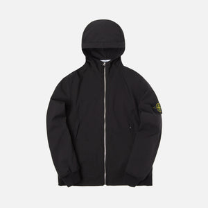 Stone Island Light Soft Shell Jacket - Black