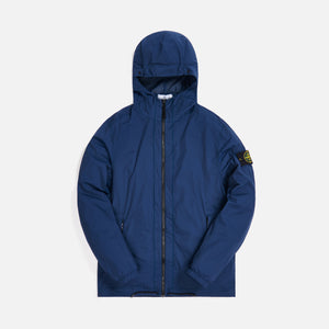 Stone Island Garment Dyed Skin Touch Packable Jacket - Blue Marin Image 1