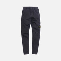 Stone Island Stretch Broken Twill Garment Dyed Pants - Antracite Thumbnail 1