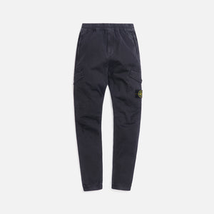 Stone Island Stretch Broken Twill Garment Dyed Pants - Antracite Image 1