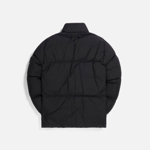 Stone Island Garment Dyed Crinkle Reps Real Down Jacket - Black