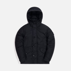 Stone Island Naslan Light Watro Garment Dyed Real Down Jacket - Black