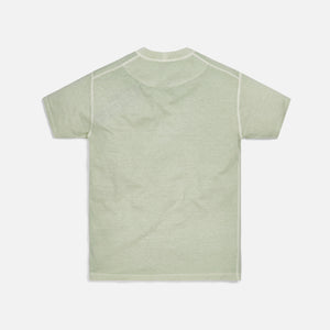 Stone Island Cotton Jersey Garment Dyed Fissato Tee - Light Green
