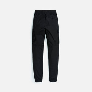 Stone Island Stretch Cotton Tela Garment Dyed Cargo Pants - Black