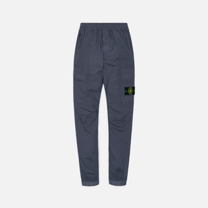 Stone Island Stretch Cotton Tela Garment Dyed Cargo Pants - Peltro