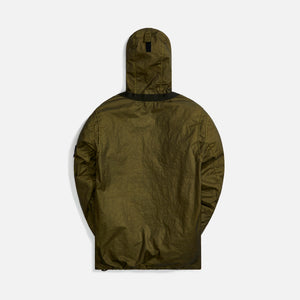 Stone Island Membrana 3L TC Hooded Jacket - Olive